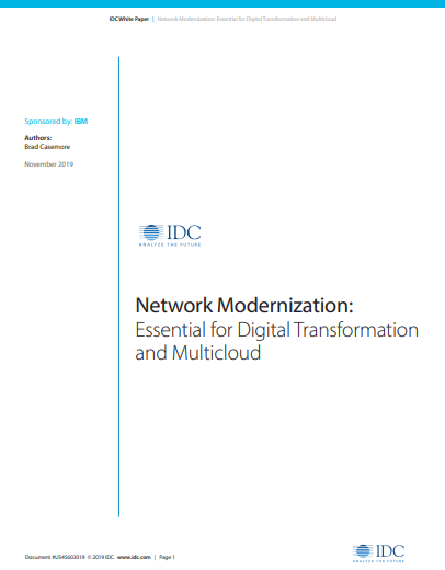 Modernizing IT Infrastructure With Digital Transformation