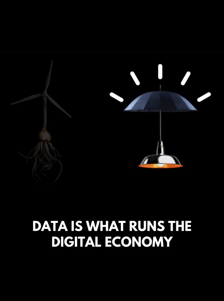 Data Is What Runs the Digital Economy