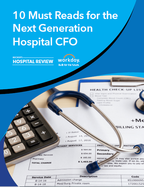 Top Priorities for the Next Generation Hospital CFOs