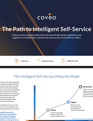 The Path to Intelligent Self-Service