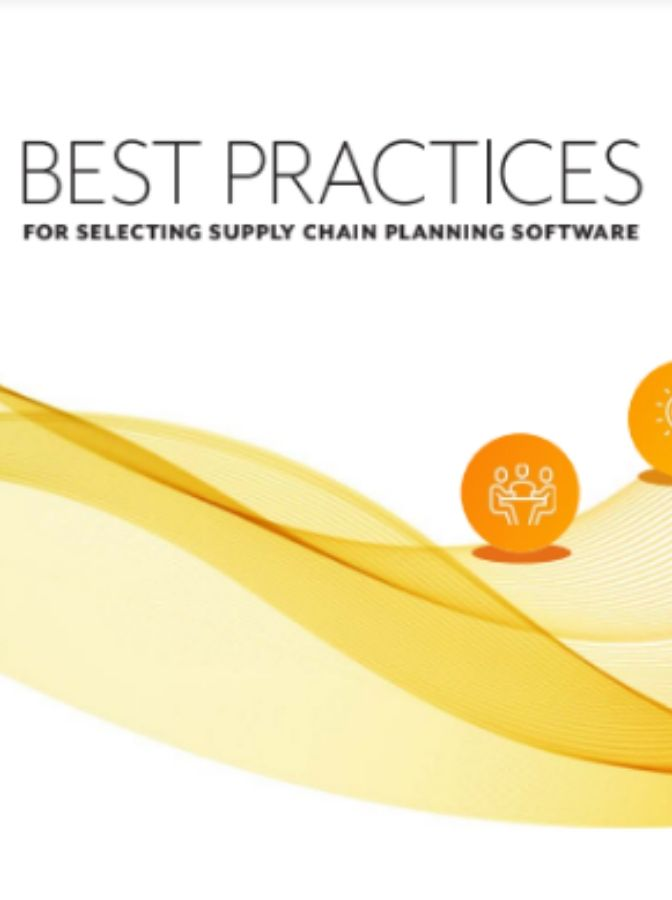 Best Practices for Selecting Supply Chain Planning Software