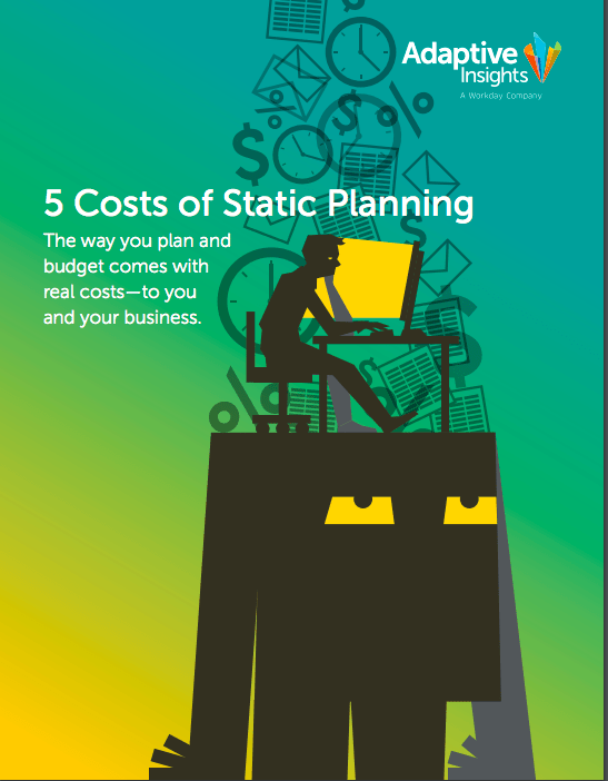 Identifying the 5 Costs of Static Planning