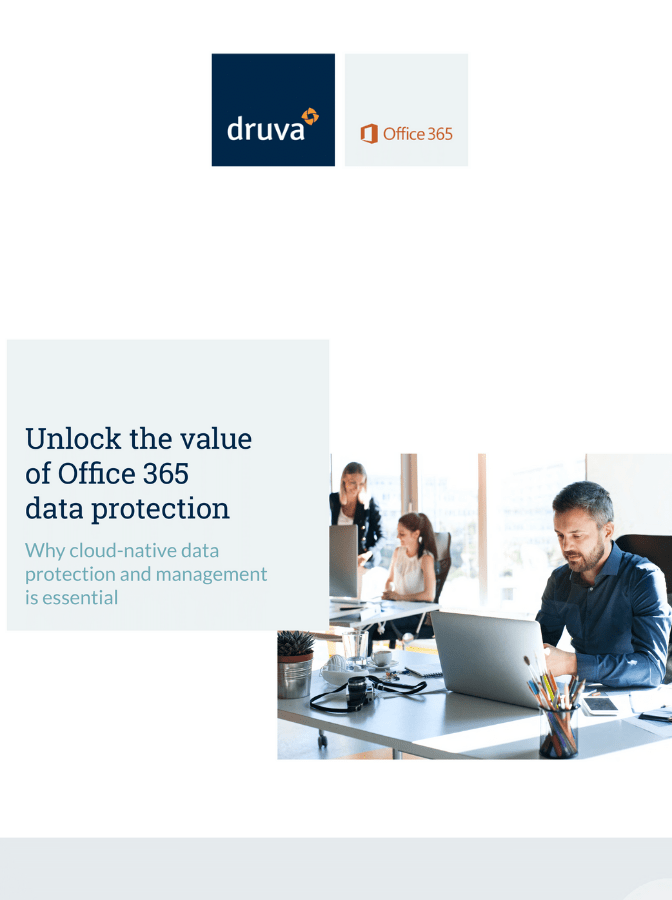 Integration of Microsoft Office 365 for Data Protection and Management