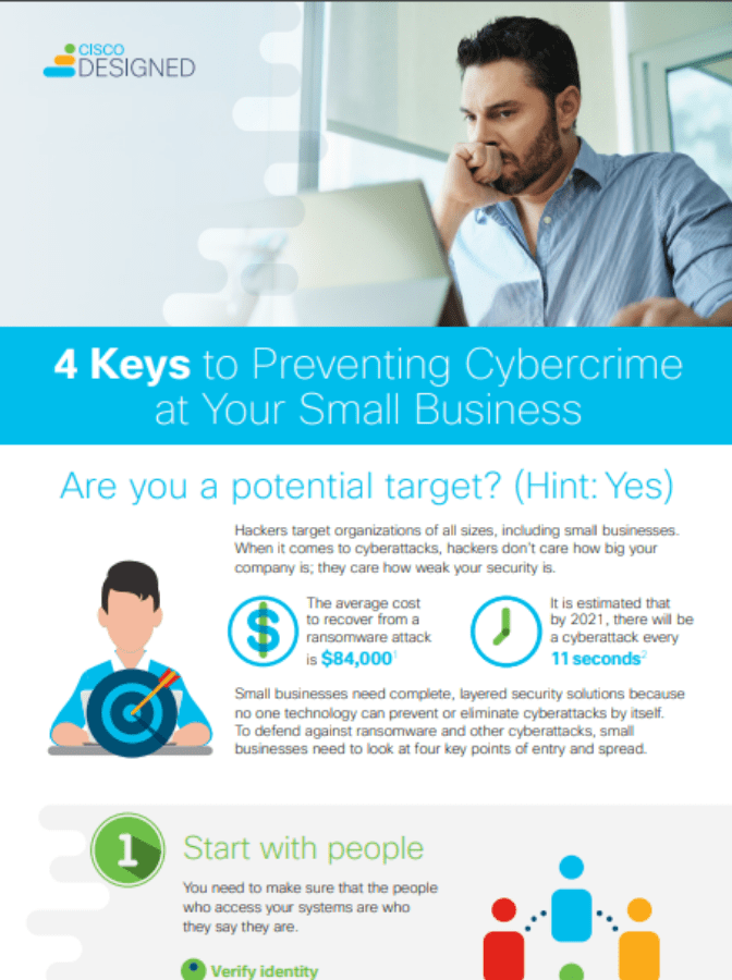 4 Keys to Preventing Cybercrime at Your Small Business