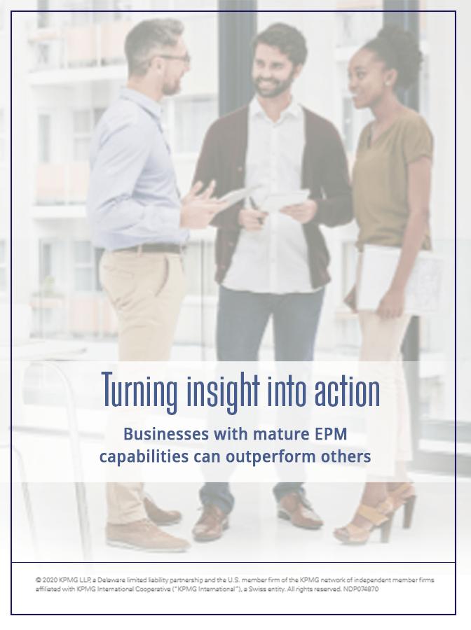 Tactics to Nurture Your Enterprise Performance Management Capabilities