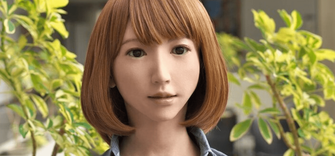 AI robot in movie making