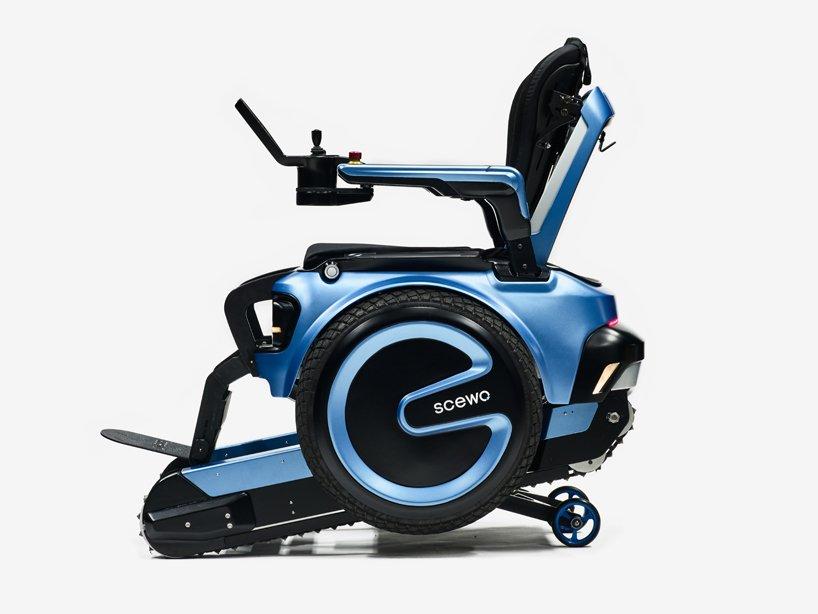 Scewo intelligent wheelchair