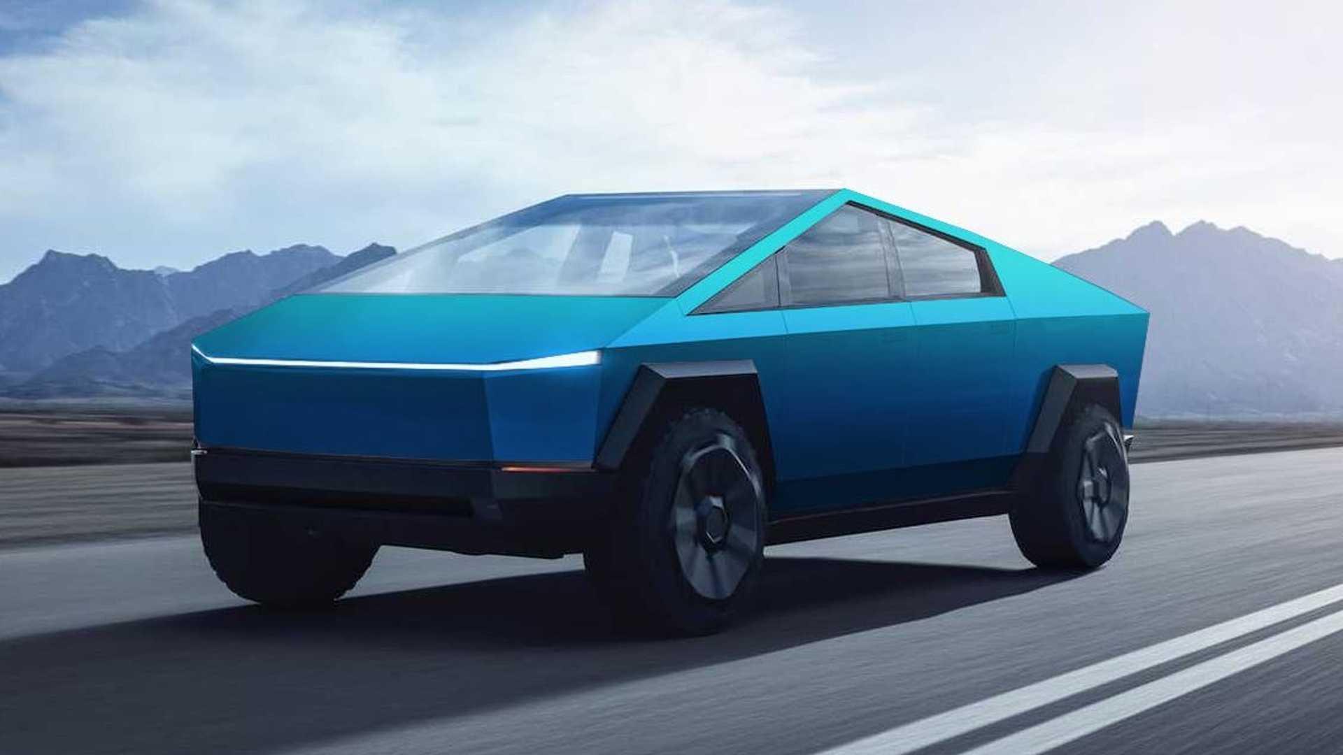 Concept Image of Tesla Cybertruck