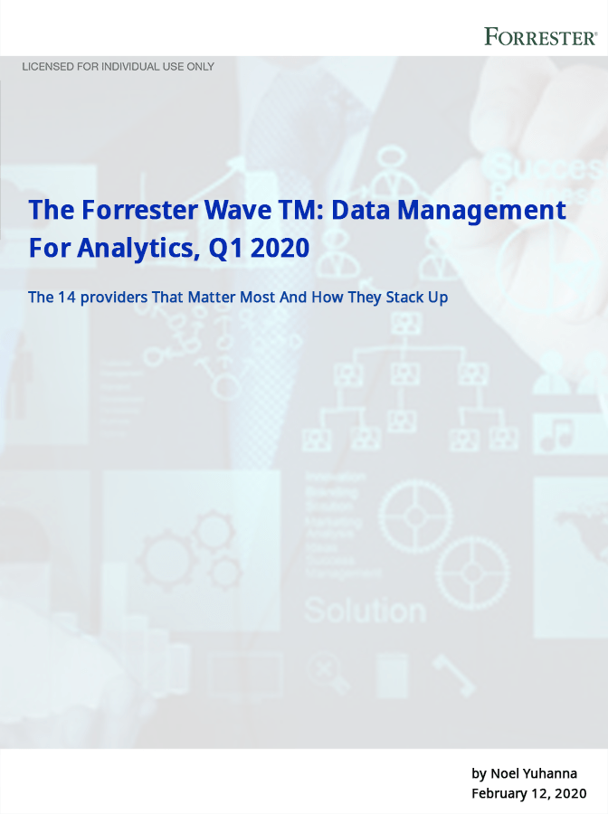 Here's 2020's Top 14 Analytics and Data Management Providers List