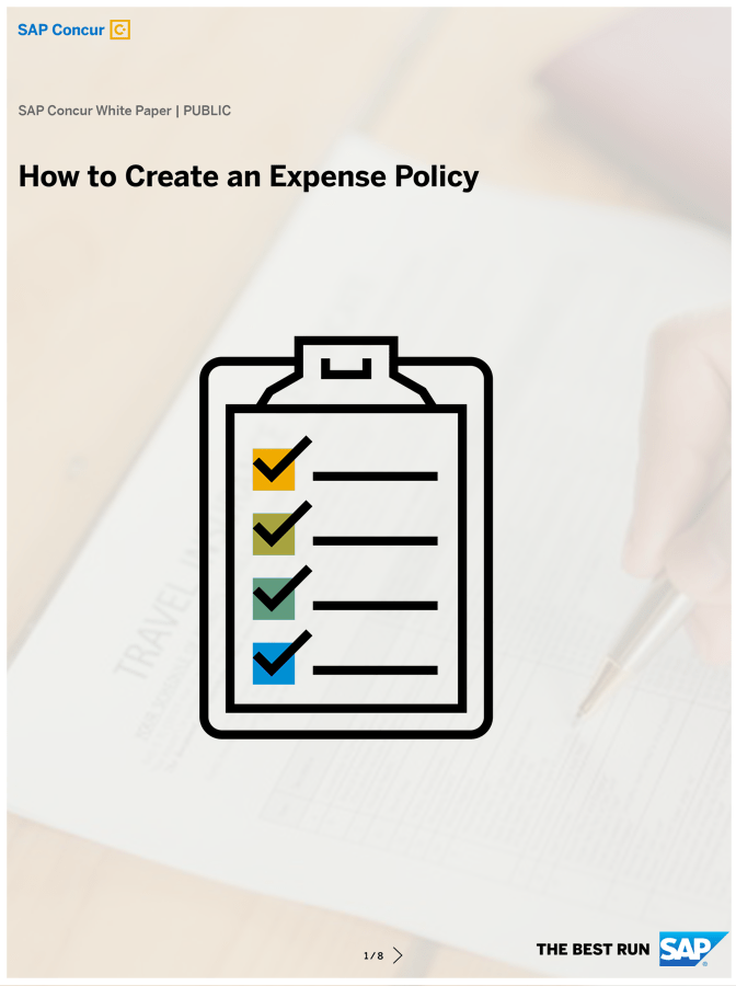 How to Create an Expense Policy that Your Employees Will Love?