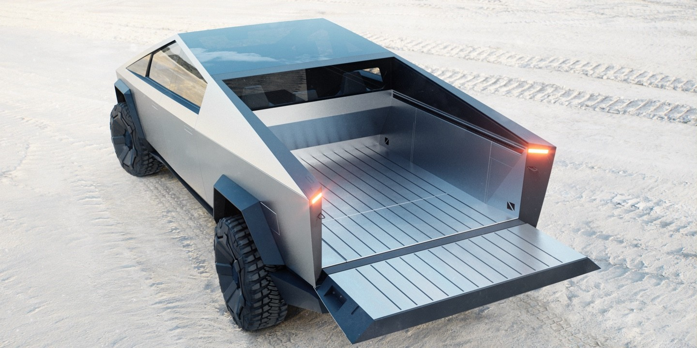 Tesla Cybertruck Exterior Concept
