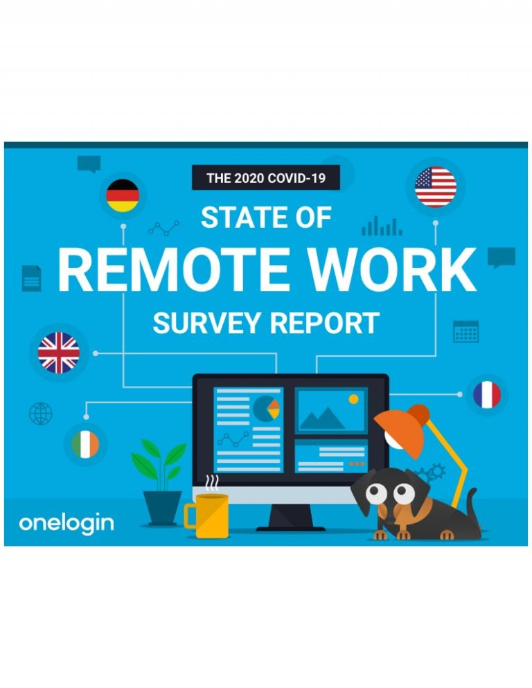 OneLogin Global Survey Report on Remote Work Trends & Best Practices