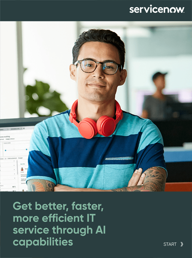 How AI Can Help You Get Faster, Better and Efficient IT Services?