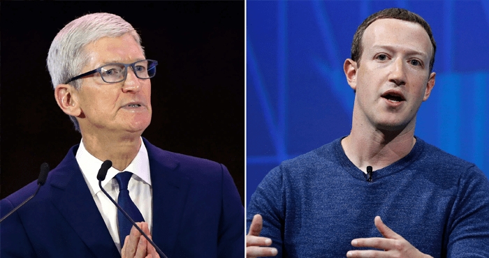 Apple and Facebook Feud Over Who's Violating Your Privacy More