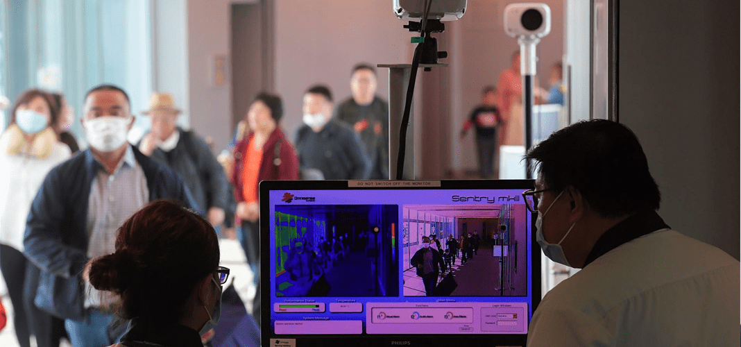 How AI-Powered Thermal Cameras Are Assisting the COVID-19 Screening?